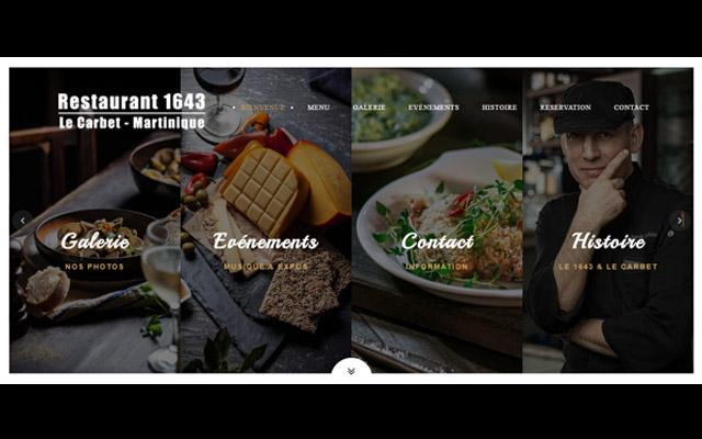 1643 Restaurant - Anse Latouche - Le Carbet - Martinique