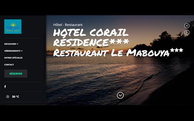 Mabouya Restaurant de l´Hôtel Corail - Sainte Luce Martinique