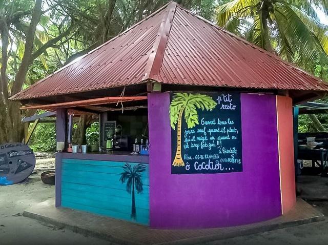 Restaurant Le Cocotier à Sainte-Anne en Martinique