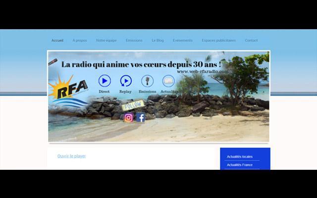 Radio Fréquence Atlantique, en Martinique