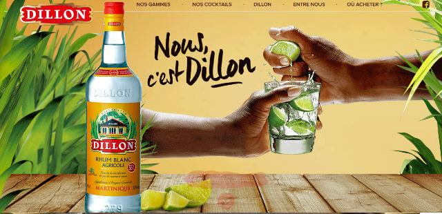 Rhum Dillon Distillerie agricole Fort-de-France Martinique