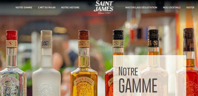 Distillerie Saint James Sainte Marie Martinique