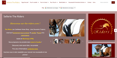 Sellerie The Riders - Magasins de sport Martinique