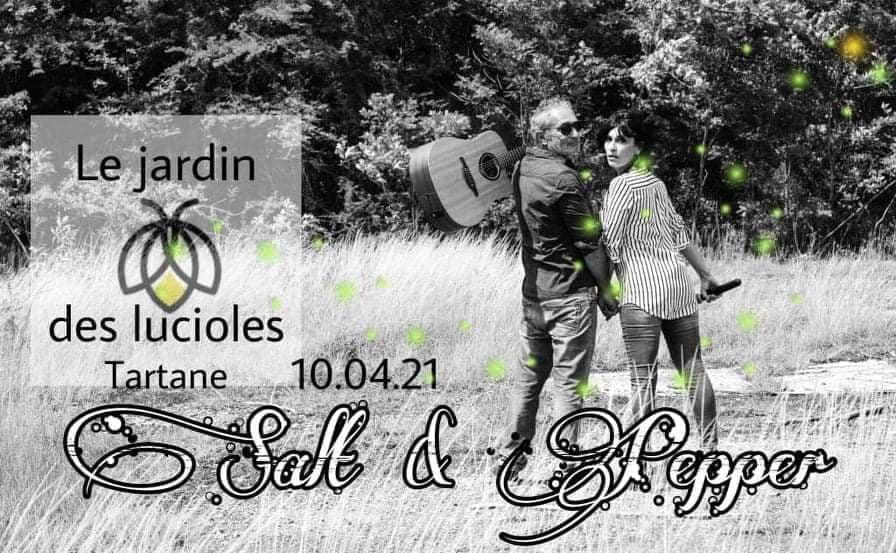 Soiree musicale le jardin des lucioles 10 avril 2021