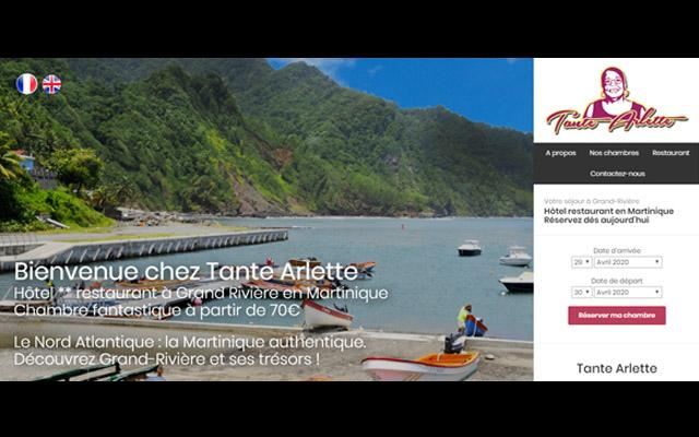 Chez Tante Arlette, Grand Rivière, restaurant Martinique