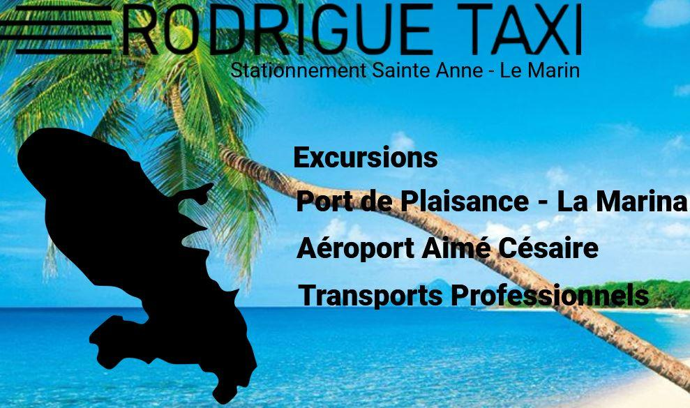 Taxi rodrigue sainte anne martinique