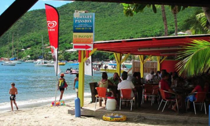 Ti Payot, bar-restaurant aux Anses d'Arlet à la Martinique