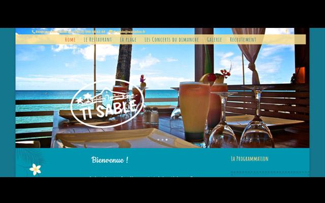 Ti Sable - Restaurant Martinique - Les Anses d'Arlet