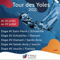 Tour des yoles martinique 26 juillet au 30 juillet 2021 min min