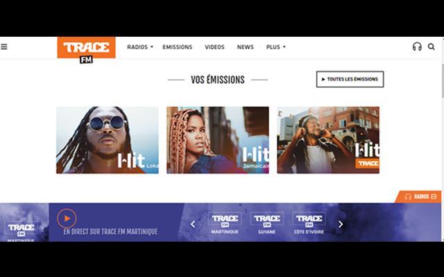 Trace FM Martinique 1ère radio dédiée à la culture urbaine