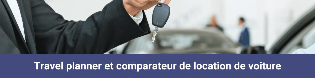 Travel planner comparateur location voiture 1