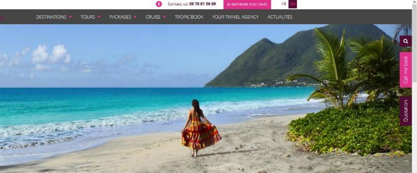Tropic Me - Les Trois-îlets - Agence de voyage Martinique