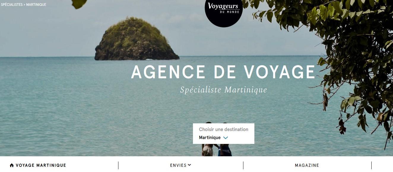 Voyageurs du Monde - Agence de voyage Martinique - Métropole
