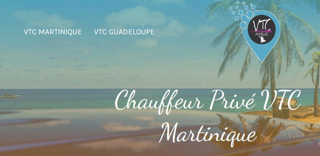VTC Antilles et services de transports privés Martinique