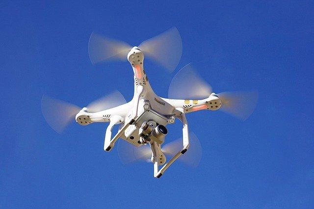 Vue aerienne drone martinique