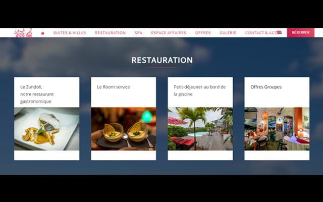 Le Zandoli, Restaurant gastronomique Martinique aux Trois Îlets